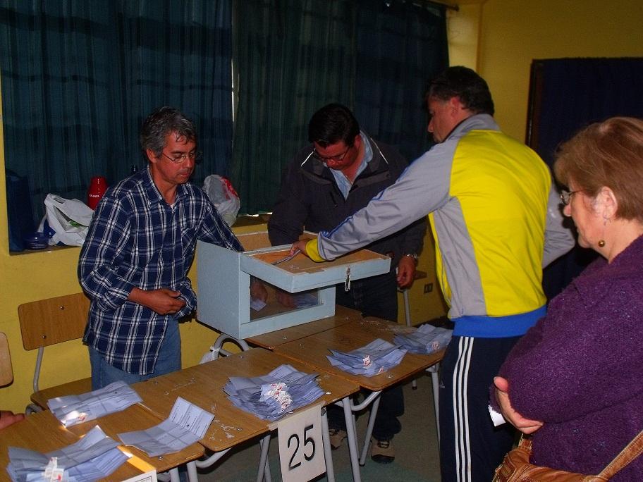 Recorrido por Locales de Votación  en Quilpué