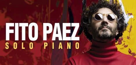 """Fito Páez regresa al casino de Viña del Mar con """"Solo al piano"""""""