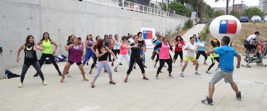 Autoridades inauguraron programas de verano del IND Valparaíso