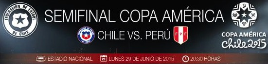 Te presentamos la Formación Oficial en el enfrentamiento de CHILE y PERU en Copa América 2015