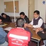 Encargado provincial de riesgos, Josué Tapia, explicó que hay coordinación con equipos de emergencia de municipio, pero que la comunidad debe adoptar medidas de seguridad en sus domicilios.