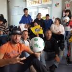 La iniciativa tuvo por objetivo promover un mensaje de No Violencia en los Estadios y hacer un llamado a los hinchas a disfrutar de la temporada deportiva sin conflictos.
