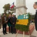 Con un solemne acto y una ofrenda floral se recordó a las víctimas del hecho bélico.