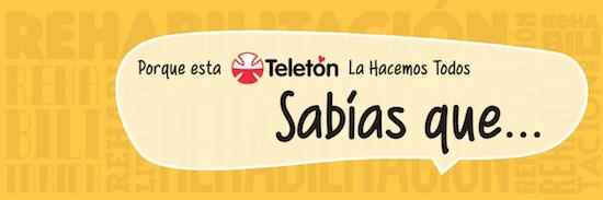 @TELETON INICIA CAMPAÑA #SabiasQueTeleton EN REDES SOCIALES PARA INFORMAR A LA CIUDADANÍA SOBRE REHABILITACIÓN