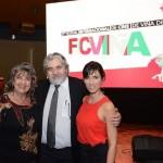 Virginia Reginato, Roberto Poblete, y Paz Bascuñan