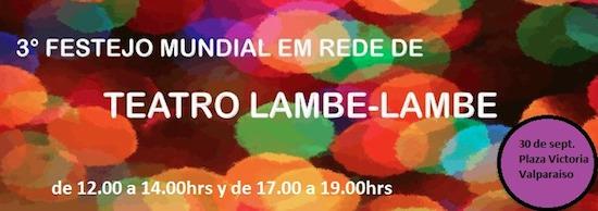 Valparaíso se une este miércoles a festejo mundial de Teatro en Miniatura