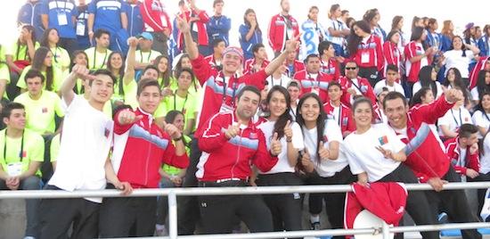 Mendoza dio la bienvenida a los XVIII Juegos Binacionales de Integración Andina