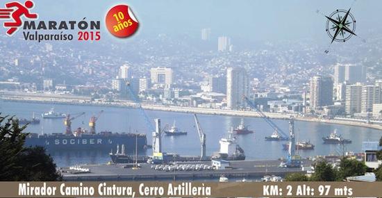 Maratón de Valparaíso se correrá por los cerros @42KValparaiso