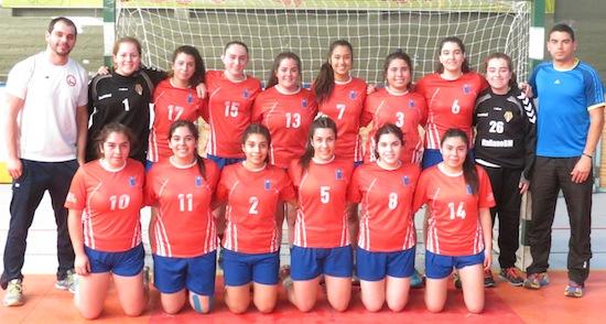 Balonmano femenino clasificó a la final en Juegos Binacionales de Mendoza