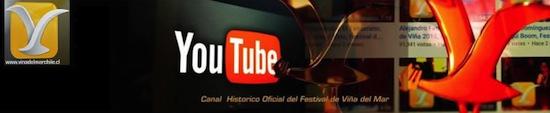 CANAL HISTÓRICO MUNICIPAL DEL FESTIVAL DE VIÑA DEL MAR YA TIENE MÁS DE 250 MILLONES DE VISITAS