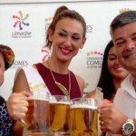 Actividad contó con la presencia de la madrina del evento, Andrea Dellacasa y el Team Cristal