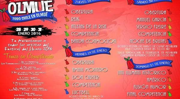 Ya están a la venta las entradas para Festival del Huaso de Olmué