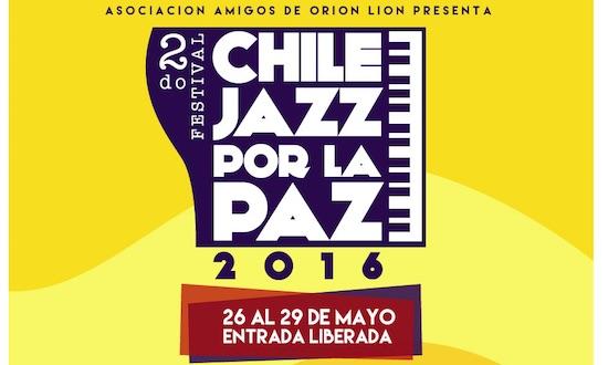 Segundo Festival Chile Jazz por la Paz