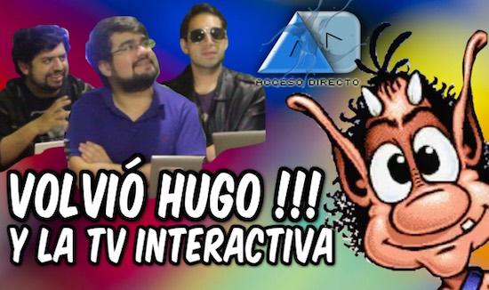 Acceso Directo Episodio Especial | el retorno del duende HUGO y la televisión interactiva de los 90