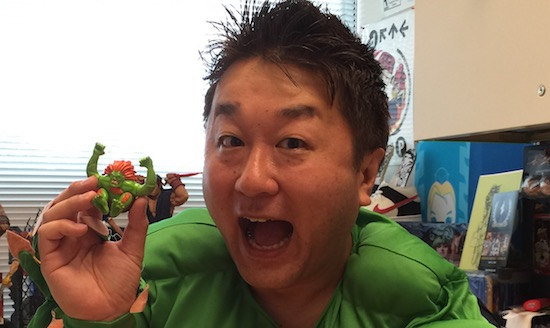 Yoshinori Ono llega a @FestiGame Fanta Zero 2016