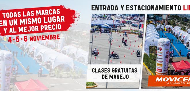 Expo Motos Chile 2016: Nuevos lanzamientos y la mayor oferta de motos en un solo lugar