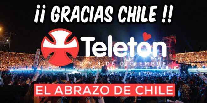 REVISA TODA LA COBERTURA DE REGIONVISUAL EN TELETON 2017: EL ABRAZO DE TODOS