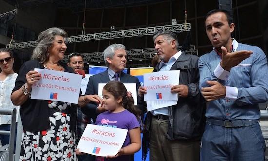 CELEBRAN INCLUSIÓN DE LENGUA  DE SEÑAS EN FESTIVAL VIÑA 2017