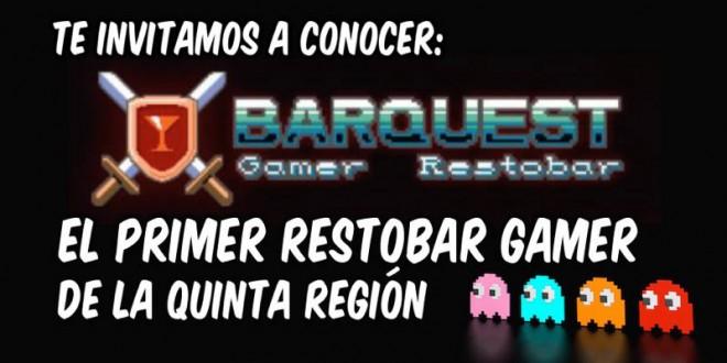 [VIDEO] BARQUEST, EL PRIMER RESTOBAR GAMER DE LA QUINTA REGIÓN