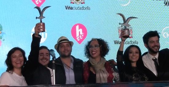 [VIDEOS] GANADORES VIÑA 2017: Mejor Canción Internacional: España | Mejor Interprete: Mexico