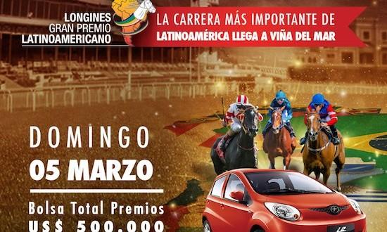 ESTE DOMINGO 5 DE MARZO SERÁ EL LONGINES GRAN PREMIO LATINOAMERICANO EN VALPARAÍSO SPORTING