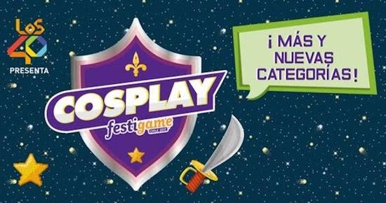 Crece la competencia de Cosplay en FestiGame 2017 con nuevas categorías y grandes premios