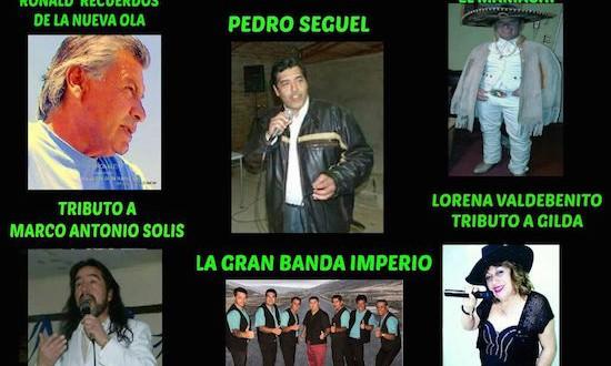 Ronald, Pedro Seguel y muchos más este Viernes 19 en Troncal Urbano Villa Alemana