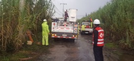 Chilquinta informa estado actual del suministro eléctrico ante frente de mal tiempo en la Región de Valparaíso
