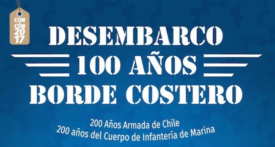 """EN CONCÓN SE LLEVARÁ A CABO EL DESEMBARCO """"100 AÑOS BORDE COSTERO""""."""