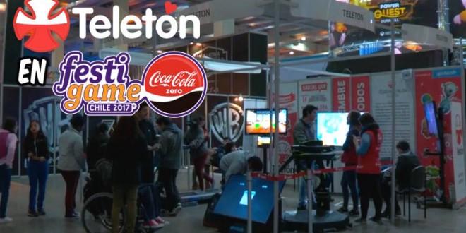 [VIDEO] TELETÓN PRESENTE EN FESTIGAME 2017