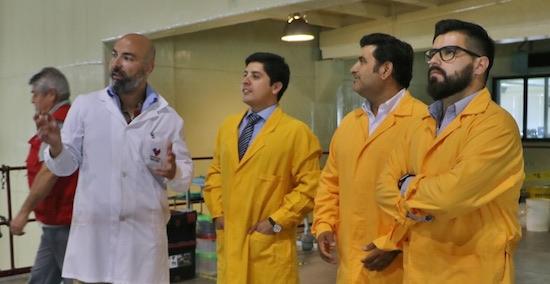 Gobernador de Marga Marga conoció instalaciones de la Comisión Chilena de Energía Nuclear en Santiago