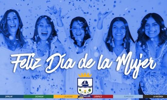 Zapallar celebra Día Internacional de la Mujer con charlas, zumba y futbolito