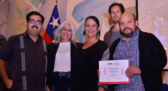 """El Jurado del WIP con Alejandra Carmona y Eduardo Lobos del proyecto """"Zurita"""""""