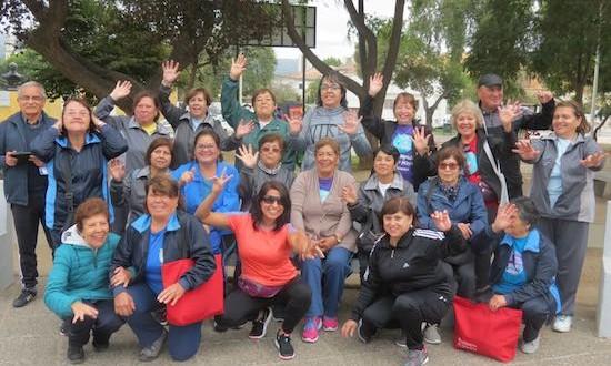En Quilpué se celebró evento masivo del Dia del Deporte