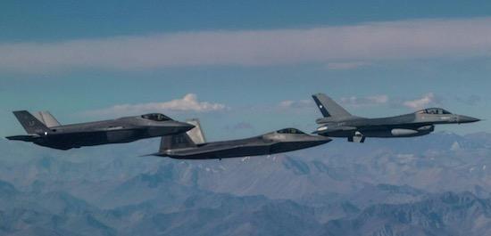 AMPLIA PRESENCIA DE LA USAF EN FIDAE 2018