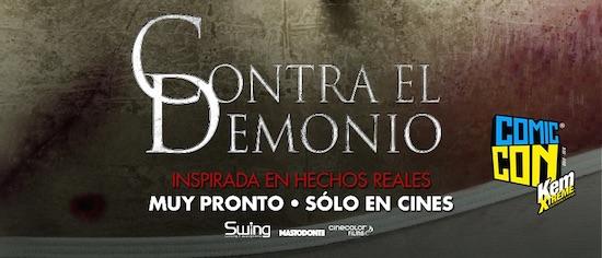"""ELENCO DE """"CONTRA EL DEMONIO"""" PARTICIPARÁ   EN COMIC CON KEM EXTREME"""