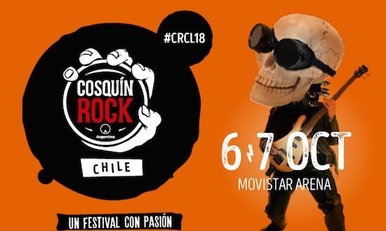COSQUÍN ROCK CHILE  PRESENTA CARTEL DE SU PRIMERA EDICIÓN