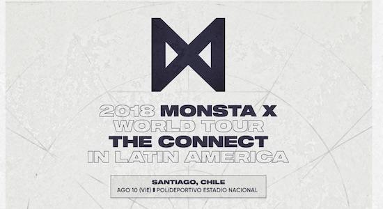 MONSTA X ANUNCIA VALORES E INICIO DE VENTA DE ENTRADAS