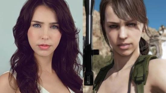 """""""Quiet"""" de Metal Gear Solid V, interpretada por Stefanie Joosten, estará en FestiGame Coca-Cola"""