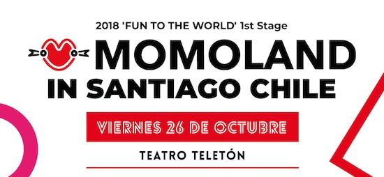 MOMOLAND TRAE TODO EL PODER FEMENINO DEL KPOP A CHILE