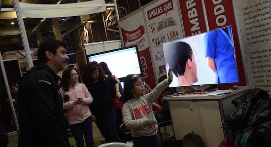 Teletón llega a Festigame Coca-Cola presentando una nueva plataforma de realidad virtual