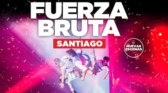 """[VIDEO] FUERZA BRUTA REGRESA A CHILE CON NUEVO SHOW """"WAYRA"""""""