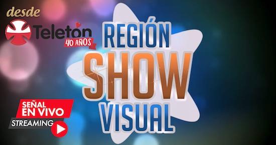 [VIDEOS] REGIONVISUAL SHOW EN VIVO DESDE EL TEATRO TELETÓN