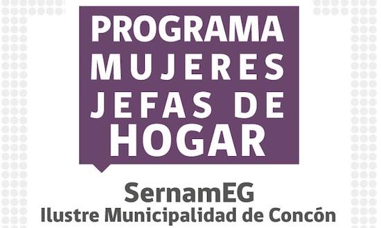 MUNICIPIO DE CONCÓN INICIÓ POSTULACION 2019 PARA EL PROGRAMA MUJERES JEFAS DE HOGAR