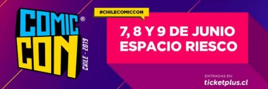 [VIDEOS] REVISA TODA LA COBERTURA REALIZADA EN COMIC CON CHILE 2019