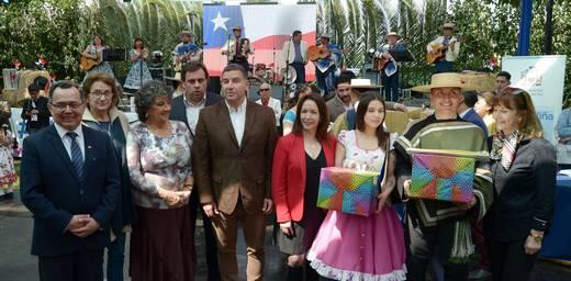 EN INÉDITA INAUGURACIÓN, ALCALDESA VIRGINIA REGINATO DIO EL VAMOS A CELBRACIONES PATRIAS EN VIÑA DEL MAR