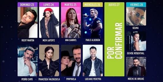 VIÑA 2020 ANUNCIA NOCHE DE MUJERES CHILENAS Y PRESENTA PROGRAMACIÓN DIARIA.