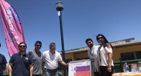 Limache cuenta con innovadores solmáforos