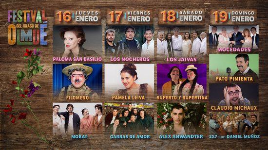 Continúan a la venta las entradas para el Festival del Huaso de Olmué 2020