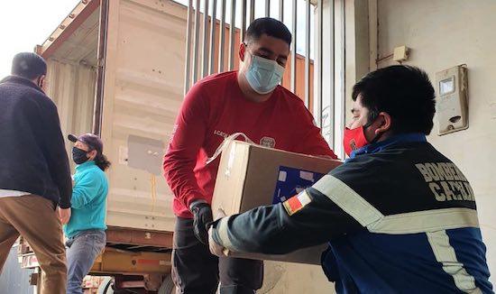 Municipio ha entregado 1.167 cajas de mercadería como apoyo a familias cabildanas